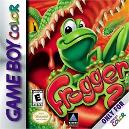 Box cover for Frogger 2 - Swampy's Revenge on the Nintendo Game Boy Color.