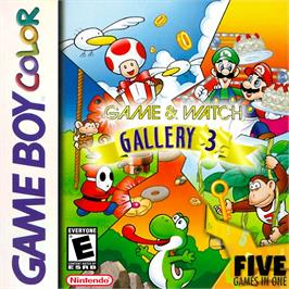Box cover for Game & Watch Gallery 3 on the Nintendo Game Boy Color.