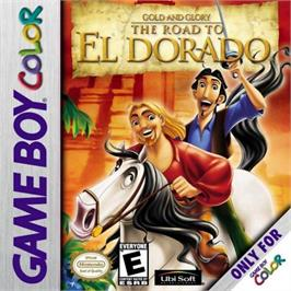 Box cover for Gold and Glory: The Road to El Dorado on the Nintendo Game Boy Color.