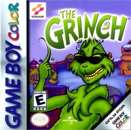 Box cover for Grinch on the Nintendo Game Boy Color.