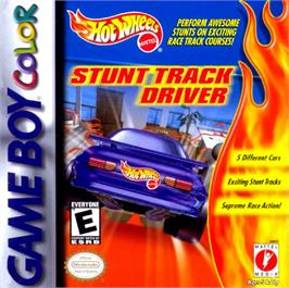 Box cover for Hot Wheels: Stunt Track Driver on the Nintendo Game Boy Color.