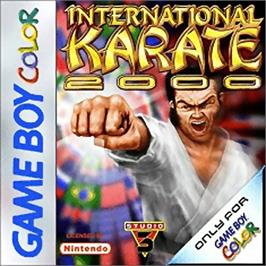 Box cover for International Karate 2000 on the Nintendo Game Boy Color.