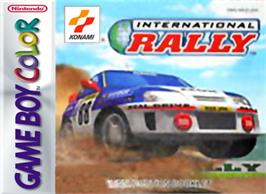 Box cover for International Rally on the Nintendo Game Boy Color.