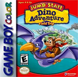 Box cover for Jump Start: Dino Adventure - Feild Trip on the Nintendo Game Boy Color.