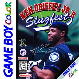Box cover for Ken Griffey Jr.'s Slugfest on the Nintendo Game Boy Color.