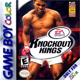 Box cover for Knockout Kings 2000 on the Nintendo Game Boy Color.
