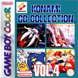 Box cover for Konami GB Collection Vol. 4 on the Nintendo Game Boy Color.