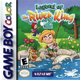 Box cover for Legend of the River King 2 on the Nintendo Game Boy Color.