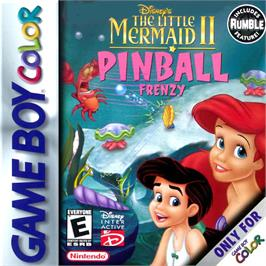 Box cover for Little Mermaid 2 on the Nintendo Game Boy Color.
