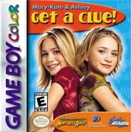 Box cover for Mary-Kate and Ashley: Get a Clue on the Nintendo Game Boy Color.