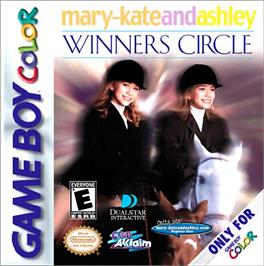 Box cover for Mary-Kate and Ashley: Winner's Circle on the Nintendo Game Boy Color.