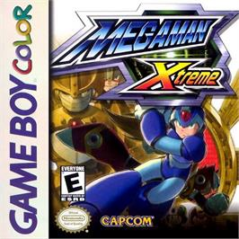 Box cover for Mega Man XTreme on the Nintendo Game Boy Color.