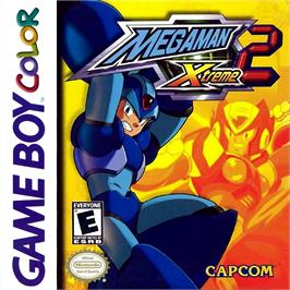 Box cover for Mega Man Xtreme 2 on the Nintendo Game Boy Color.
