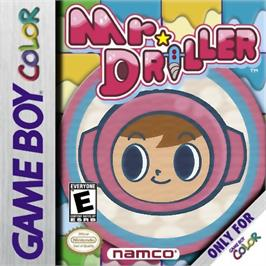 Box cover for Mr Driller on the Nintendo Game Boy Color.