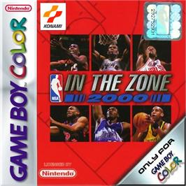Box cover for NBA in the Zone 2000 on the Nintendo Game Boy Color.