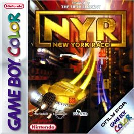Box cover for New York Race on the Nintendo Game Boy Color.