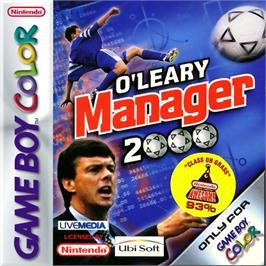 Box cover for O'Leary Manager 2000 on the Nintendo Game Boy Color.
