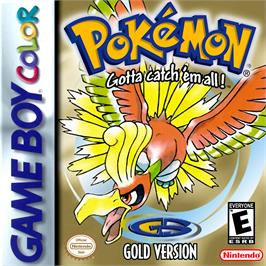 Box cover for Pokemon: Gold Version on the Nintendo Game Boy Color.
