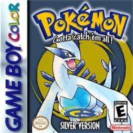 Box cover for Pokemon: Silver Version on the Nintendo Game Boy Color.