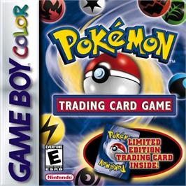 Box cover for Pokemon Trading Card Game on the Nintendo Game Boy Color.