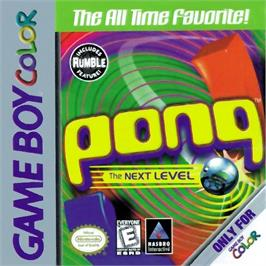 Box cover for Pong: The Next Level on the Nintendo Game Boy Color.