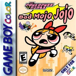 Box cover for Powerpuff Girls: Bad Mojo Jojo on the Nintendo Game Boy Color.