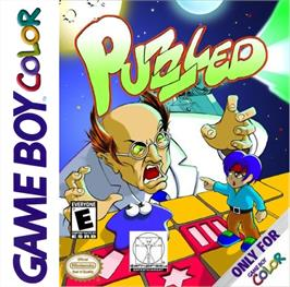 Box cover for Puzzled on the Nintendo Game Boy Color.