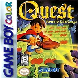 Box cover for Quest - Fantasy Challenge on the Nintendo Game Boy Color.