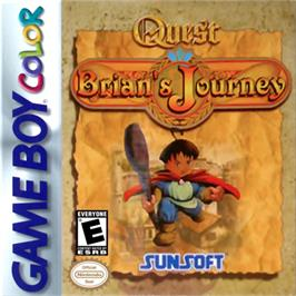 Box cover for Quest RPG - Brian's Journey on the Nintendo Game Boy Color.