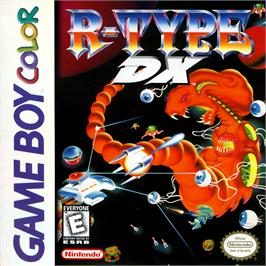 Box cover for R-Type DX on the Nintendo Game Boy Color.