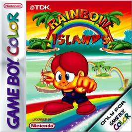 Box cover for Rainbow Islands on the Nintendo Game Boy Color.