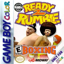 Box cover for Ready 2 Rumble Boxing on the Nintendo Game Boy Color.