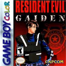 Box cover for Resident Evil: Gaiden on the Nintendo Game Boy Color.