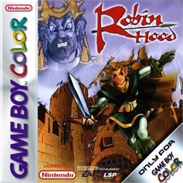 Box cover for Robin Hood on the Nintendo Game Boy Color.