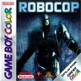 Box cover for RoboCop on the Nintendo Game Boy Color.
