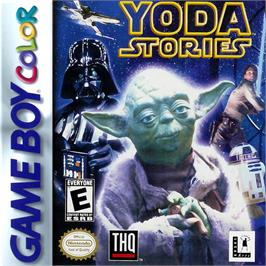 Box cover for Star Wars: Yoda Stories on the Nintendo Game Boy Color.