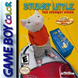 Box cover for Stuart Little: The Journey Home on the Nintendo Game Boy Color.