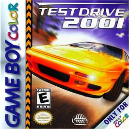 Box cover for Test Drive 2001 on the Nintendo Game Boy Color.