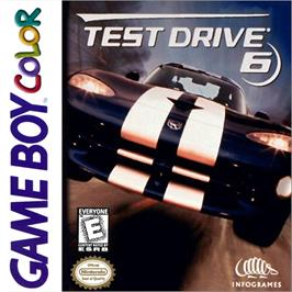 Box cover for Test Drive 6 on the Nintendo Game Boy Color.