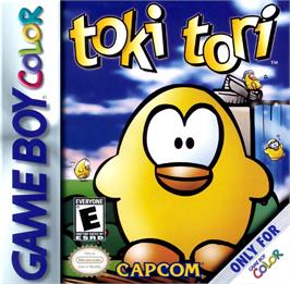 Box cover for Toki Tori on the Nintendo Game Boy Color.