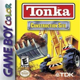 Box cover for Tonka Construction Site on the Nintendo Game Boy Color.