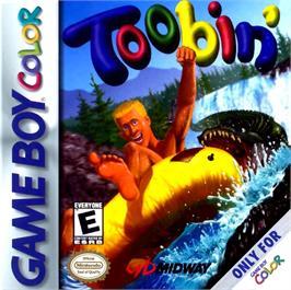 Box cover for Toobin' on the Nintendo Game Boy Color.