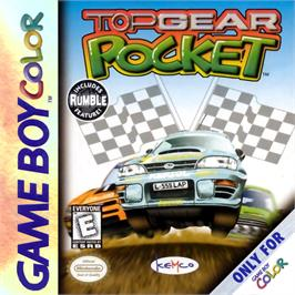 Box cover for Top Gear Pocket on the Nintendo Game Boy Color.
