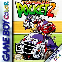 Box cover for Top Gear Pocket 2 on the Nintendo Game Boy Color.