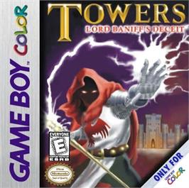 Box cover for Towers: Lord Baniff's Deceit on the Nintendo Game Boy Color.