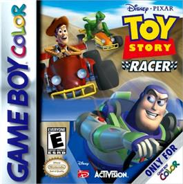 Box cover for Toy Story Racer on the Nintendo Game Boy Color.