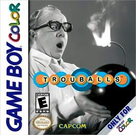 Box cover for Trouballs on the Nintendo Game Boy Color.