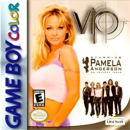 Box cover for V.I.P. on the Nintendo Game Boy Color.