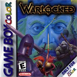 Box cover for Warlocked on the Nintendo Game Boy Color.