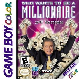 Box cover for Who Wants To Be A Millionaire? on the Nintendo Game Boy Color.